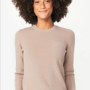 FIGS KNIT LOUNGEWEAR TOP ONLY NWT SMALL